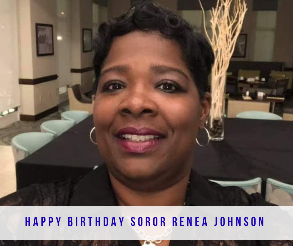 Happy Birthday, Soror Renea Johnson
