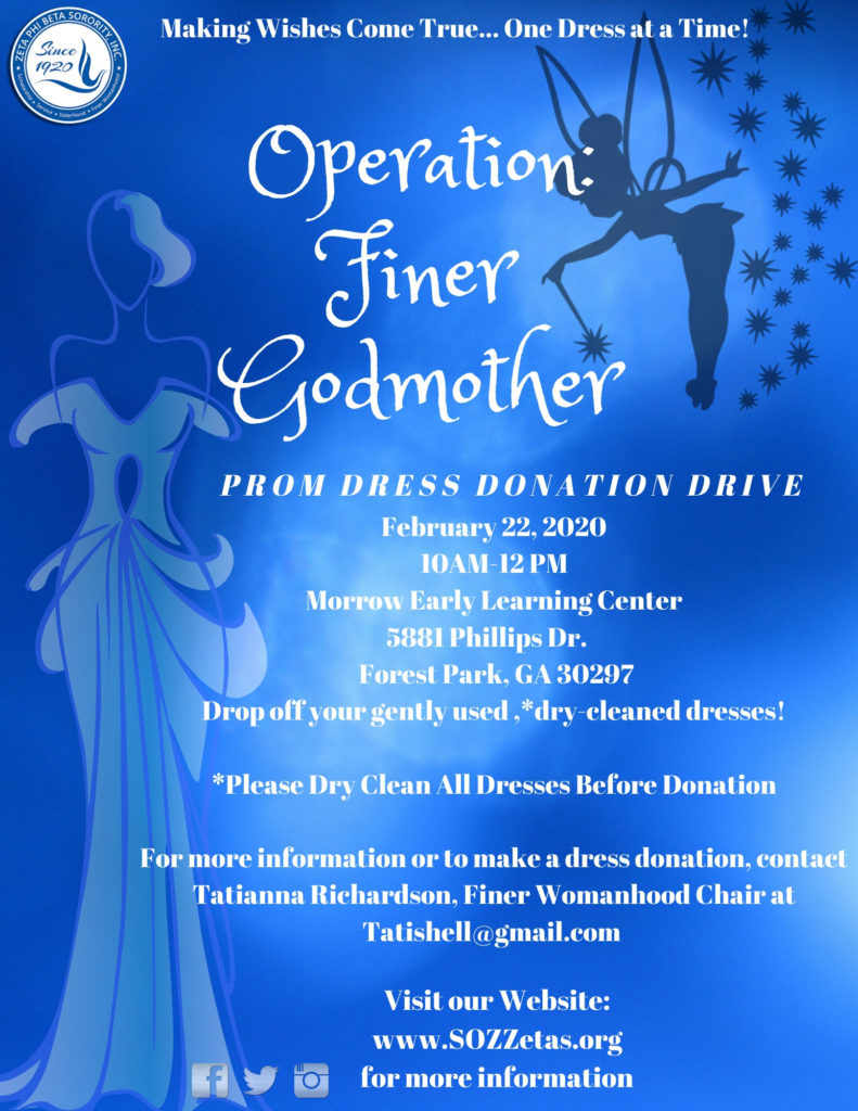 Operation Fairy Godmother Prom Dress Donation Drive