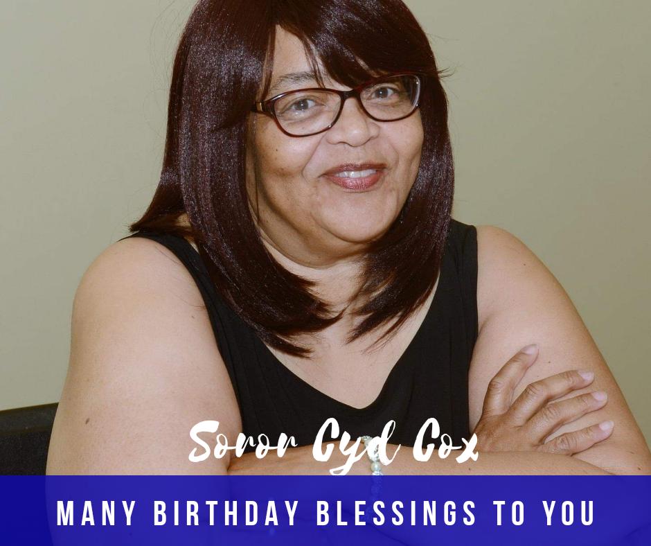 Happy Birthday Soror Cyd Cox