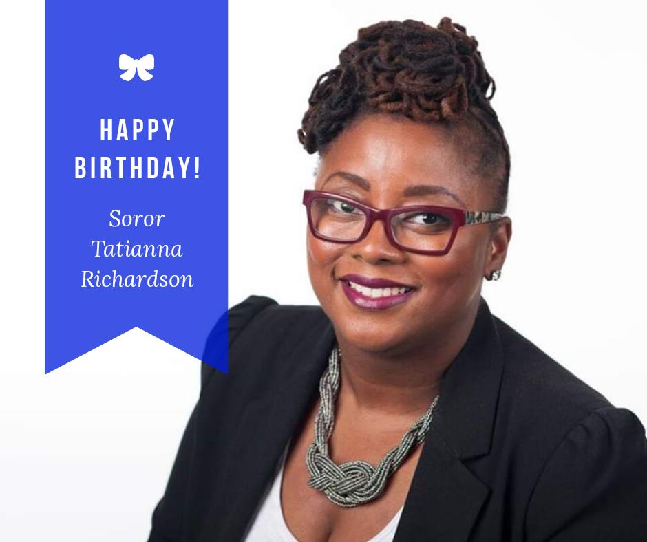 Happy Birthday Soror Tatianna Richardson