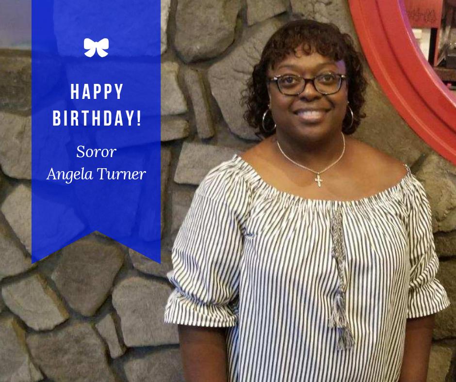 Happy Birthday Soror Angela Bowens-Turner